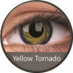 Phantasee Crazy Lens Yellow Tornado-UNIQSO