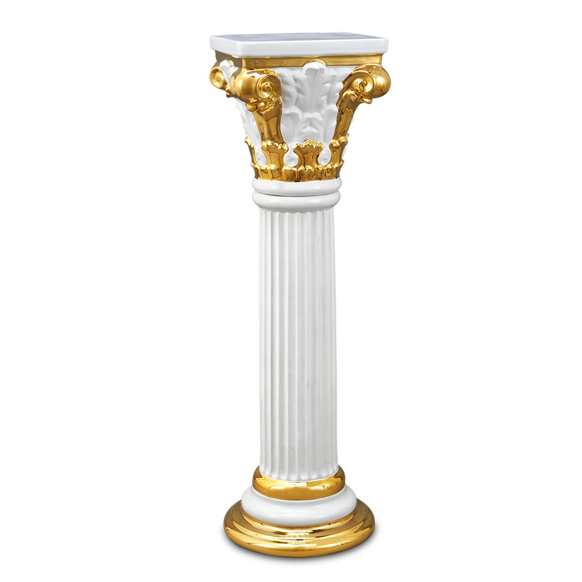 Ceramic decorative column