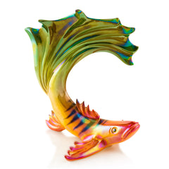 Ceramic tropical fish figurine
