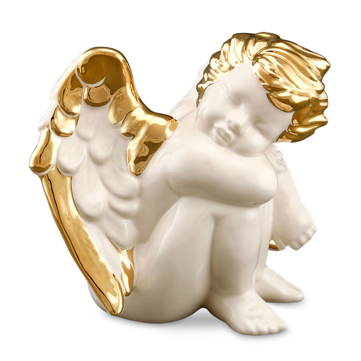 Lovely ceramic angel, decorative objects and figurines