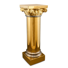 Classic Greek Column Porcelain - Made in Italy