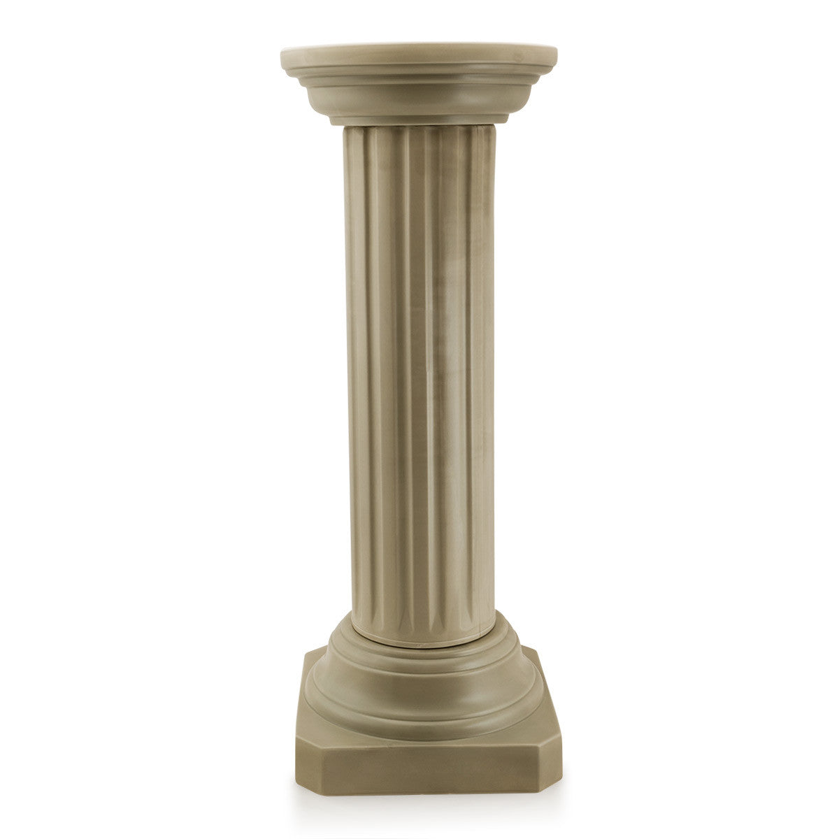 Ribbed shaft column