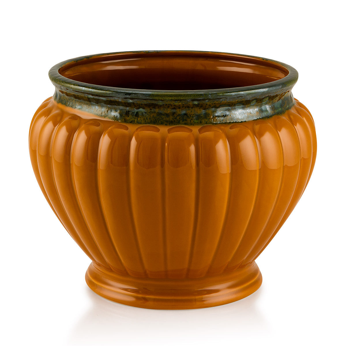 Ribbed Bowl cachepot