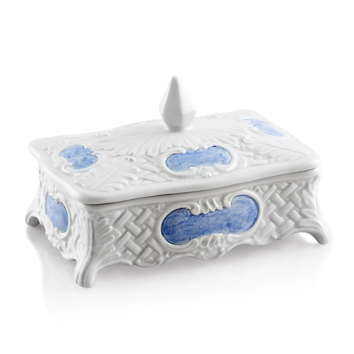 Rectangular baroque box