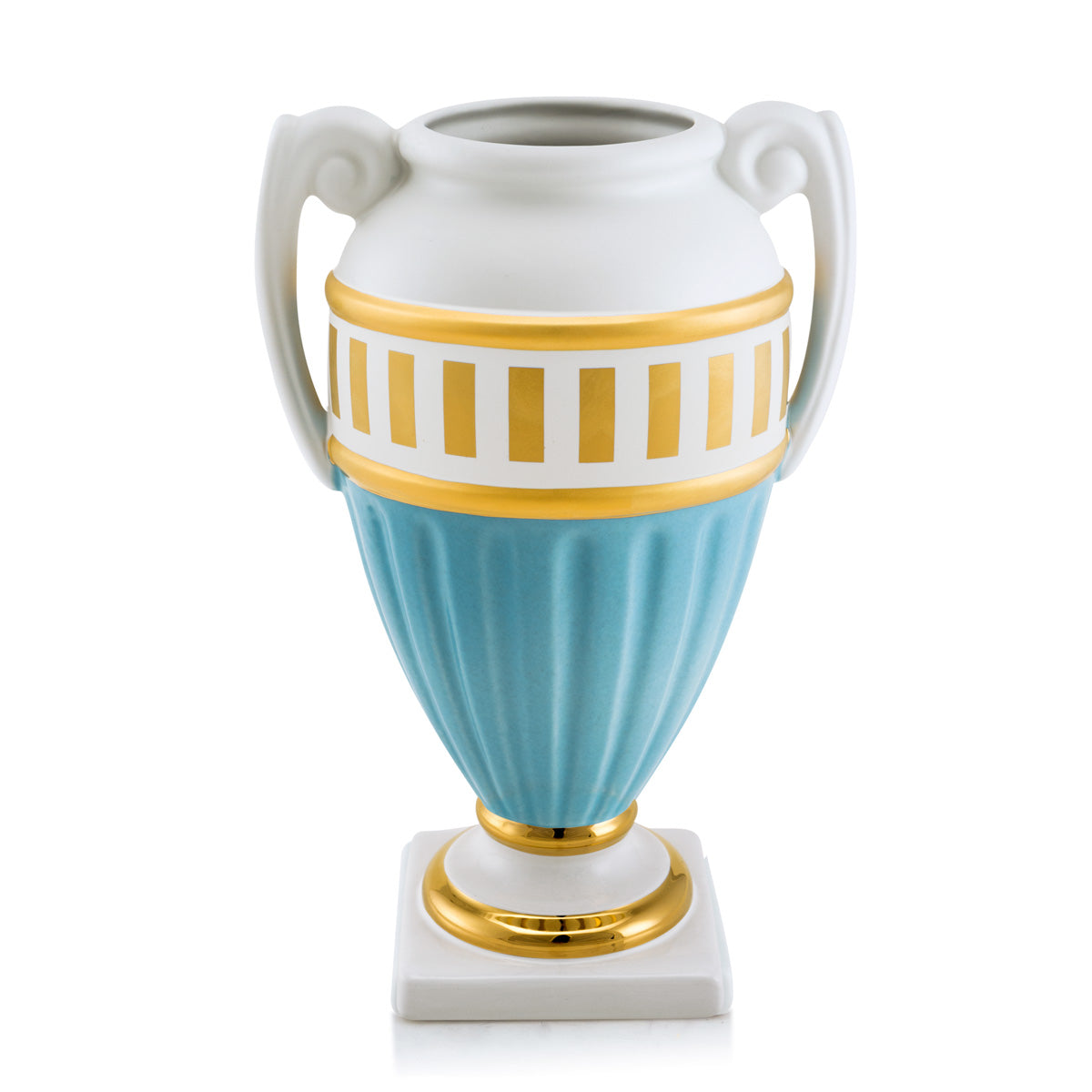 Ceramic vase with two handles | Arena