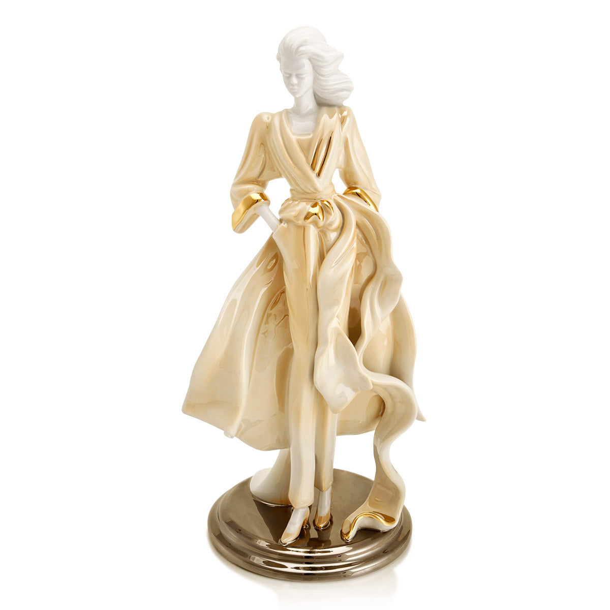 Porcelain Figurines-ceramic lady figurines- collectible ceramic home decor home accessories