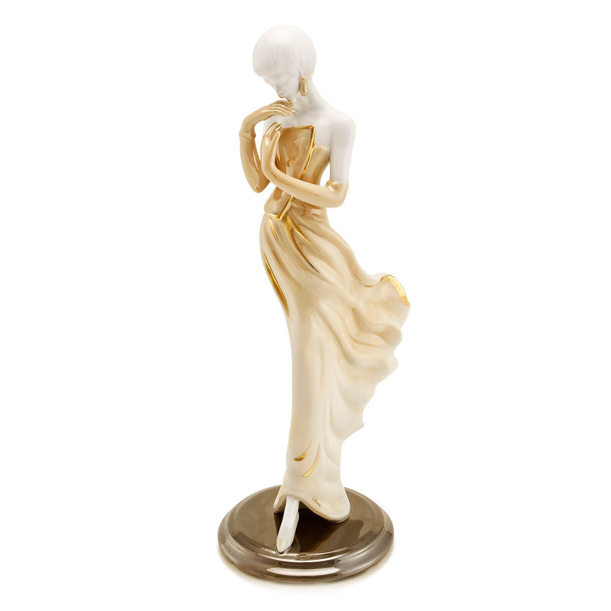 ceramic porcelain woman statue figurine collection
