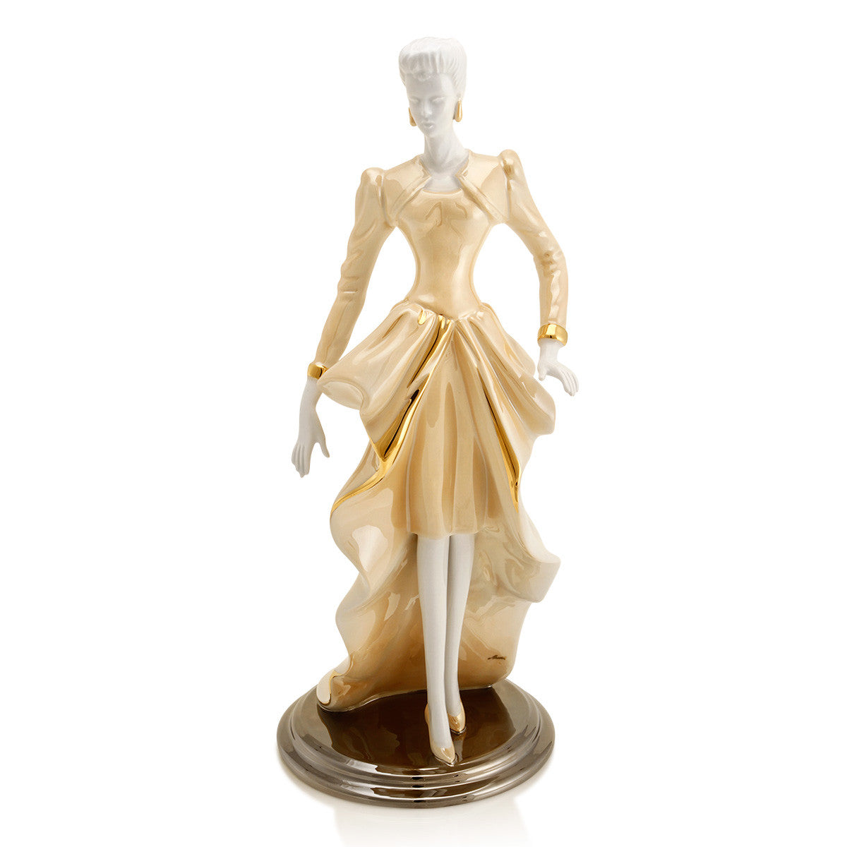 woman figurine collection ceramic porcelain home decor