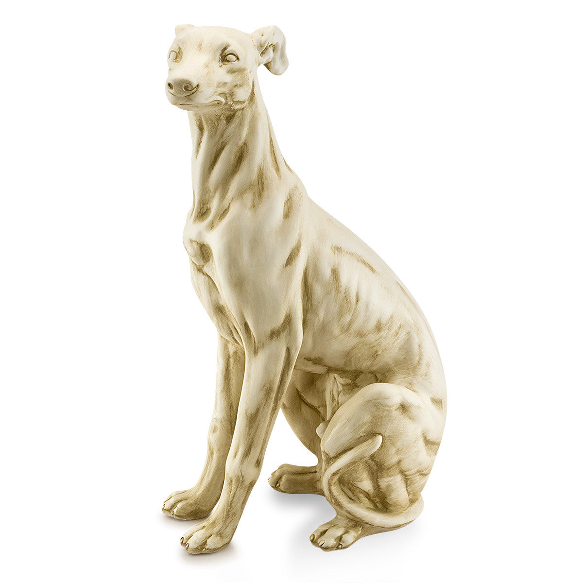 Ceramic big italian greyhound figurine