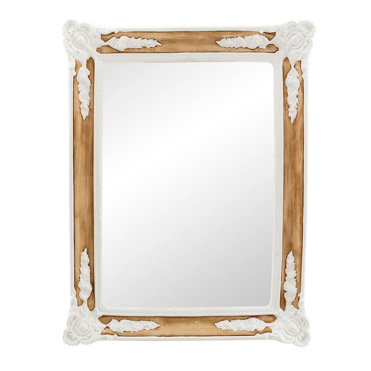 Ceramic large mirror with reliefs