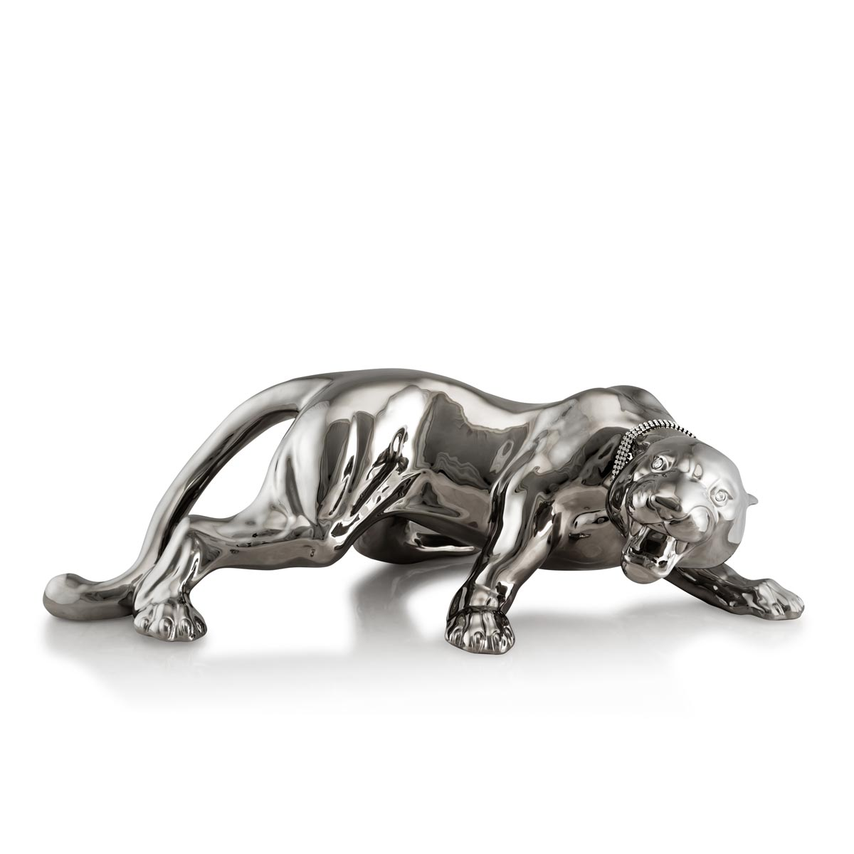 Ceramic platinum tiger