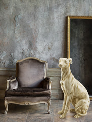 big italian greyhound statue