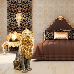 ceramic lion-ceramic shell-interior design