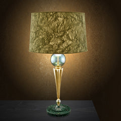 Table Lamp with marble base