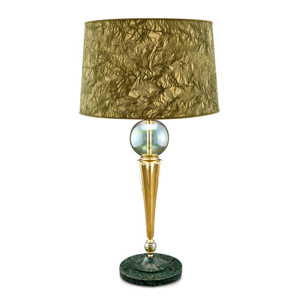 Glass table lamps, crystal table lamp, Made in Italy