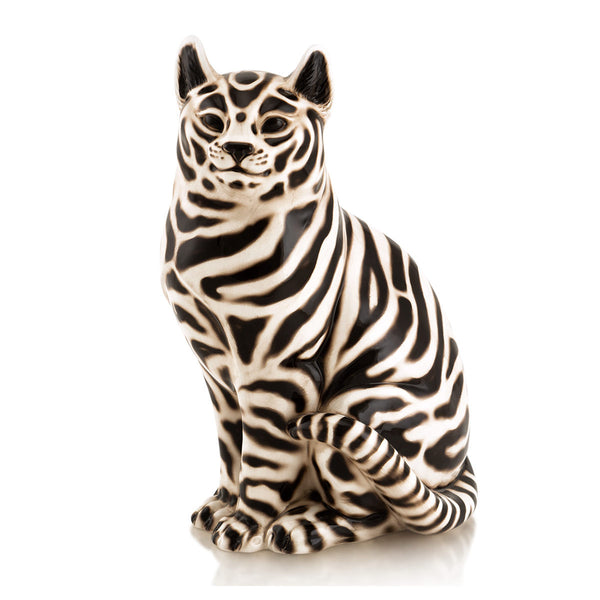 Ceramic cat statue Ethnic style