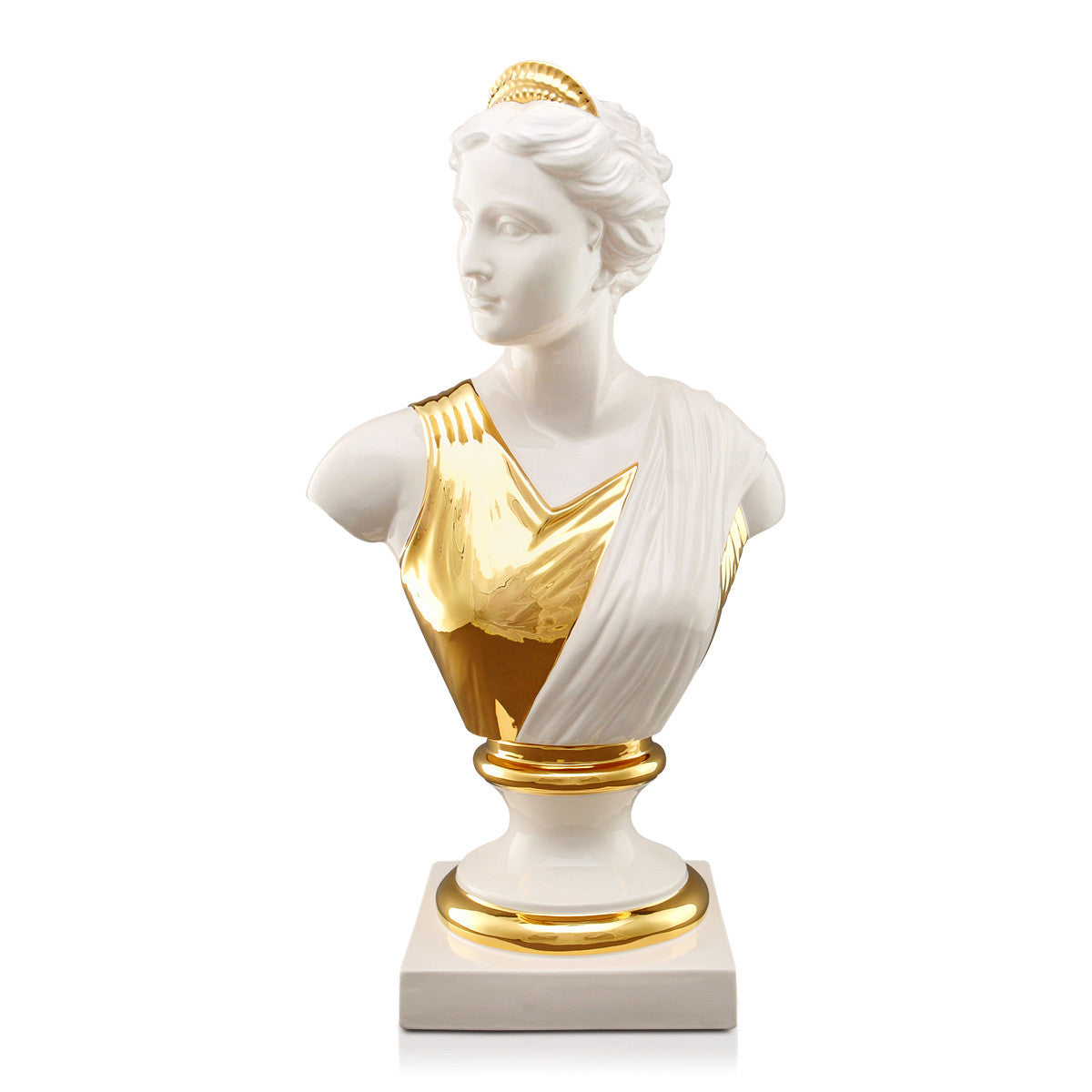 Venus ceramic sculpture decorative objects, home interiors, italian figurines