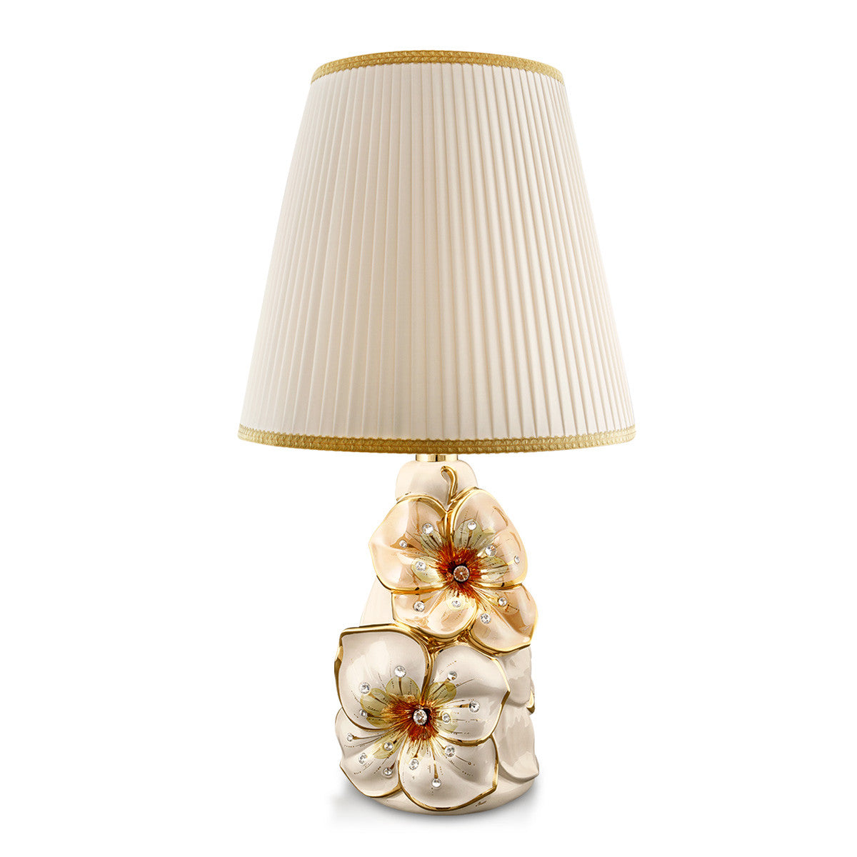 Ceramic table lamp | Flower