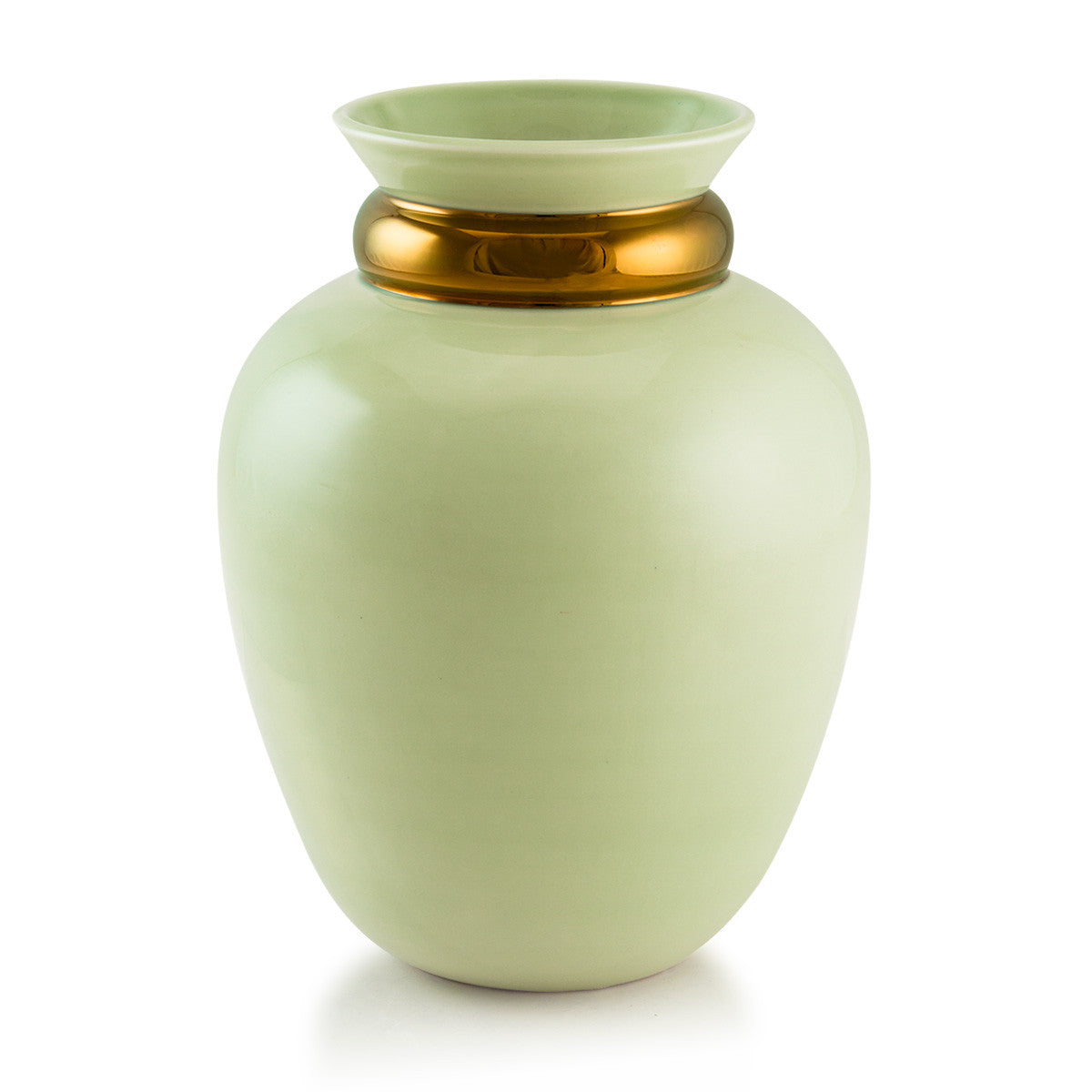 Ceramic celadon vase | Ring
