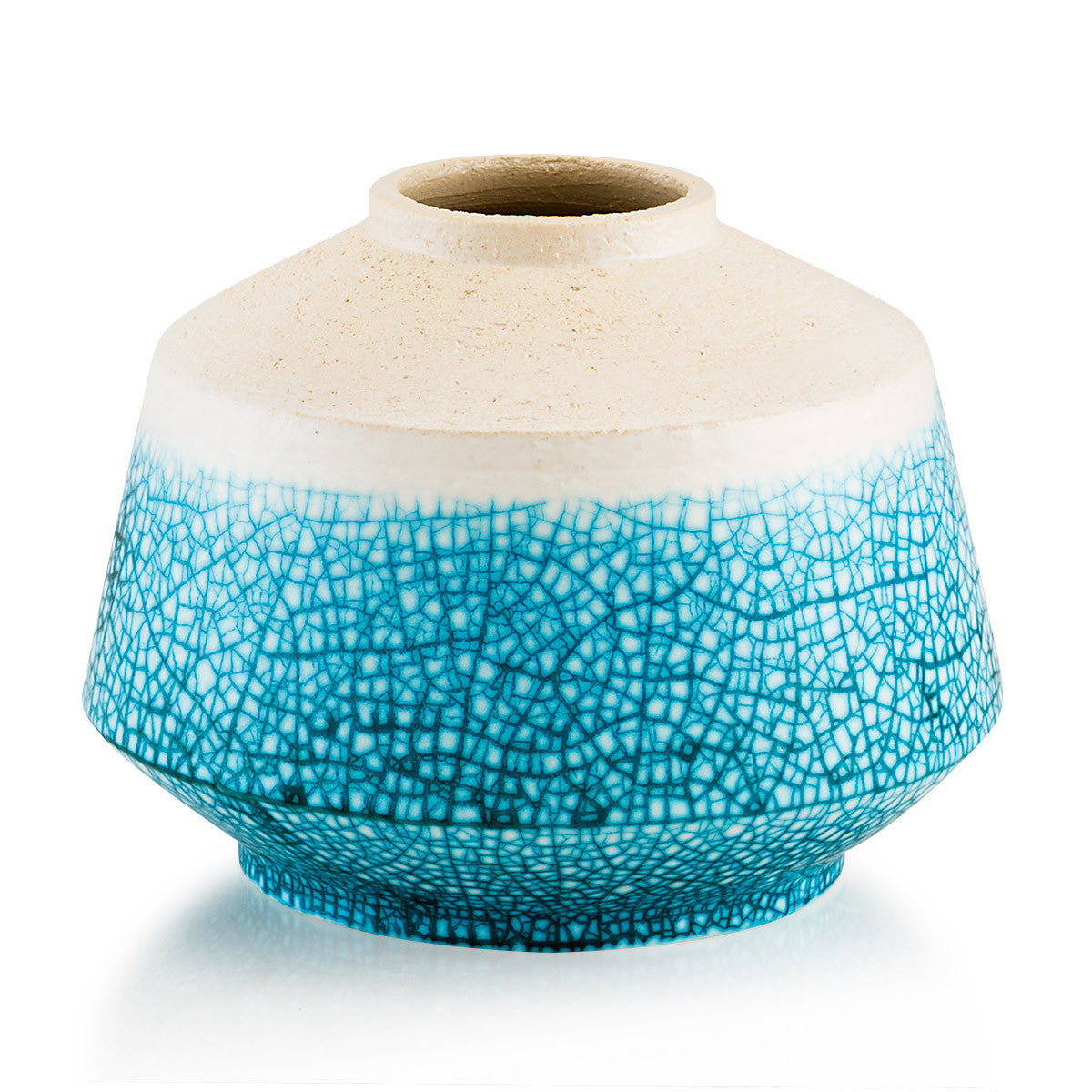 Crackle glaze ceramics, nautical decor, ceramic supplies, top quality