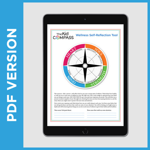The Kid Compass: Grades 6-8 Self-Reflection Tool (PDF File)