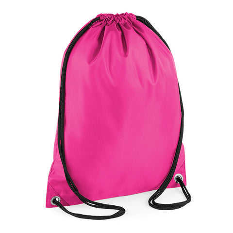 Pull String Water Resistant Gymsac Swim Sport Gym PE School Bag Range of Colours