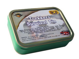 Emergency Survival Trekkers Tin