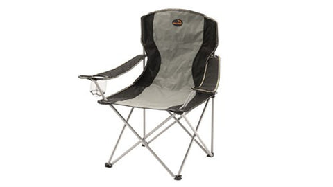 Easy Camp Camping Festival Fishing Outdoor Travel Caravan Arm Rest Chair GREY