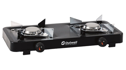 Outwell Stove Appetizer 2-Burner Camping Double Cooker