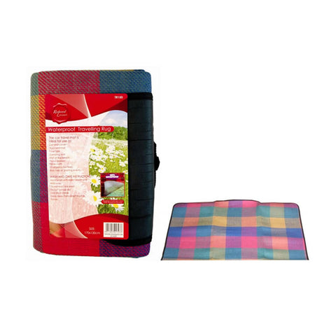 Waterproof Camping Picnic Rug Colourful Blanket