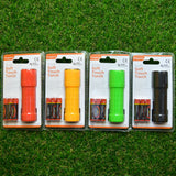 9 LED SOFT TOUCH TORCH WITH BATTERIES