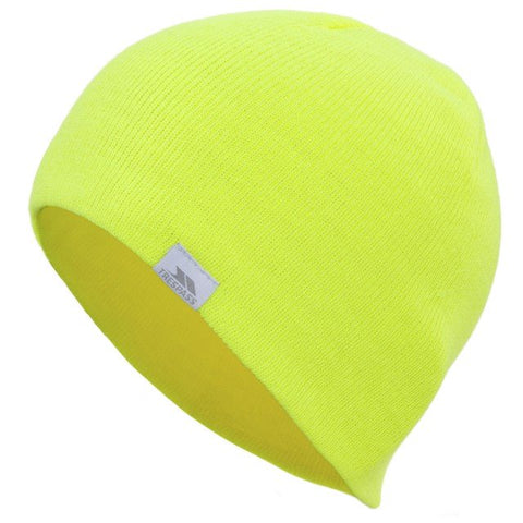 Trespass Luminous Adults Unisex Hi-Vis Beanie Hat