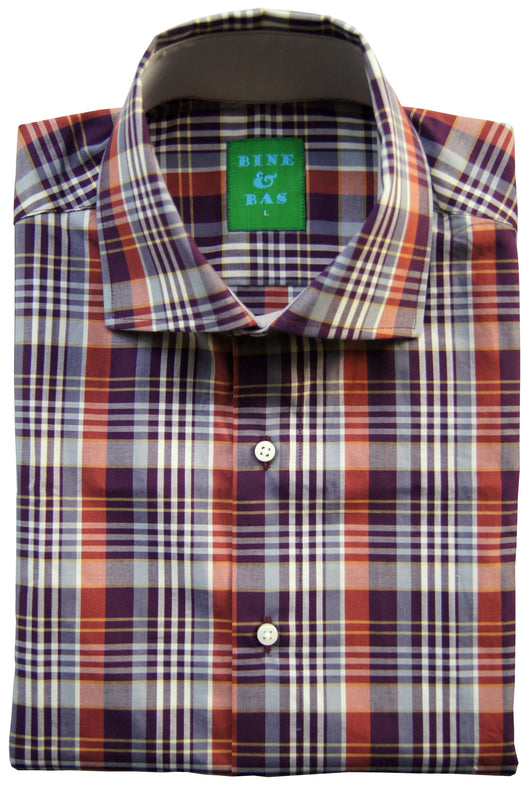 Merrick Brown Plaid