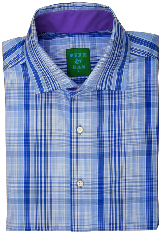 Karsten Blue Plaid