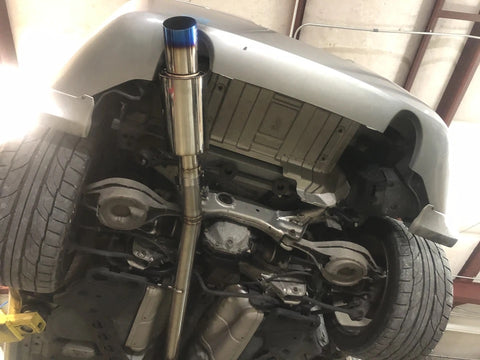 "RZG 3"" Single Exhaust Replacement Muffler"