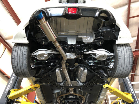 "RZG 3"" Single Exit Exhaust (370z)"