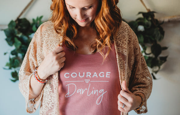 Courage Darling Slouchy Tank