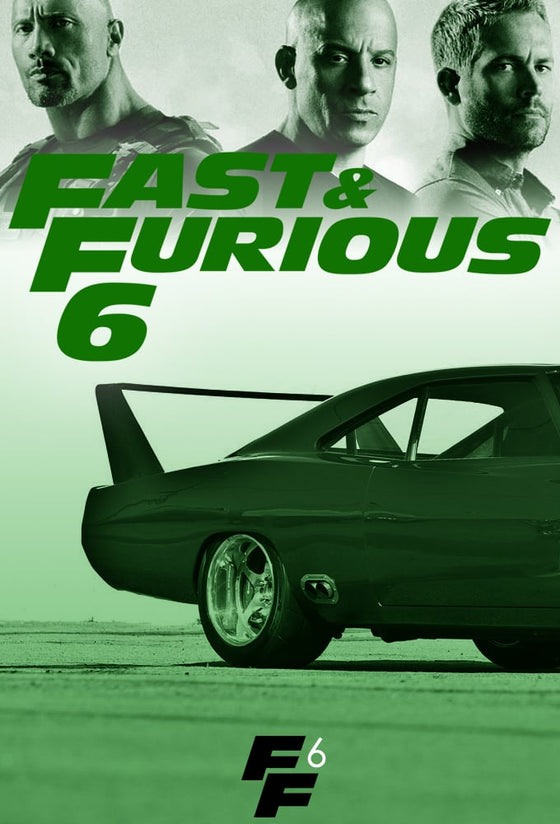 Fast and Furious 6 (Extended) HD (Vudu)