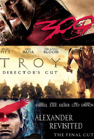 300/Troy Directors Cut/Alexander Revisited Final Cut HD (MA/Vudu)
