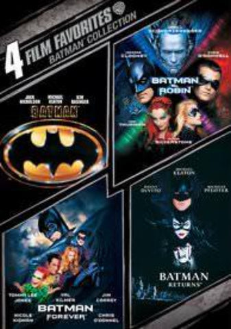 4-Film Favorites: Batman UVHD