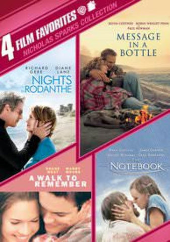 4 Film Favorites: Nicholas Sparks Romances UVSD