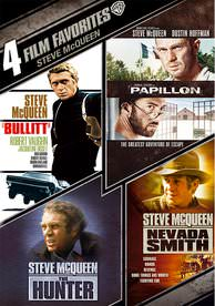 4-Film Favorites: Steve McQueen SD (Vudu)