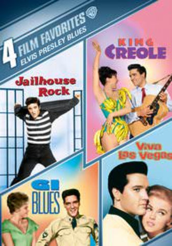 4-Film Favorites: Elvis Presley Blues UVSD