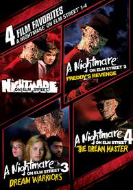 4 Film Favorites: Nightmare on Elm Street 1-4 UVSD