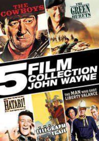 5 Film Collection: John Wayne UVSD