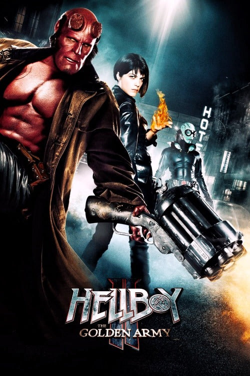 Hellboy 2: The Golden Army - HD (iTunes)