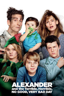 Alexander And The Terrible, Horrible, No Good, Very Bad Day - HD (MA/Vudu)