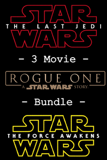 Star Wars 3-Movie Bundle - HD (MA/VUDU)