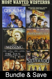6-Movie Most Wanted Westerns Collection - SD (MA/Vudu)