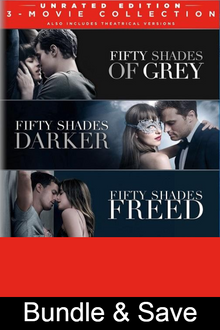 Fifty Shades: 3-Movie Collection - 4K (MA/Vudu)